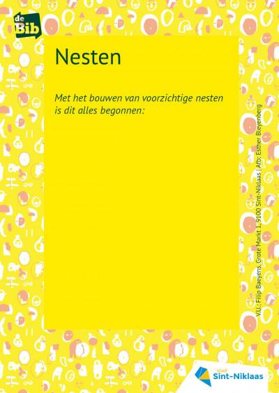Nesten, een participatief stadsgedicht